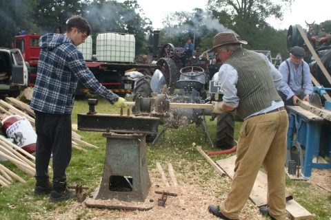 woodworking by Steam