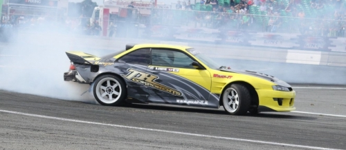 Drifting in punchestown